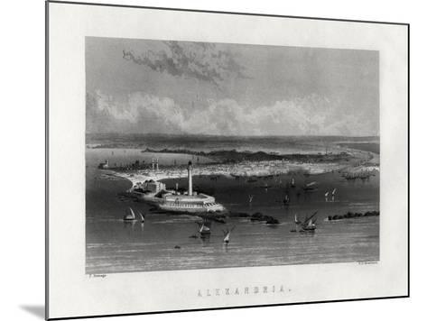 Alexandria, Egypt, 19th Century-Edward Paxman Brandard-Mounted Giclee Print