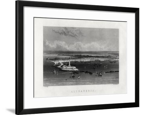 Alexandria, Egypt, 19th Century-Edward Paxman Brandard-Framed Art Print