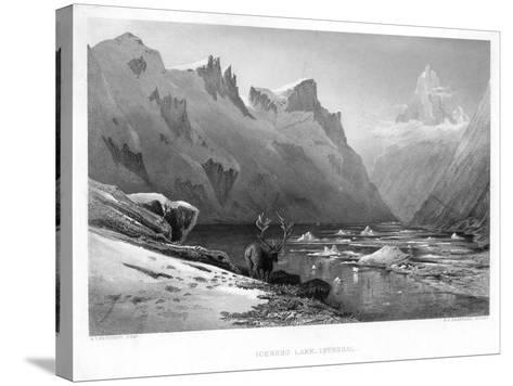 Iceberg Lake, Isterdal, Norway, Mid-Late 19th Century-Edward Paxman Brandard-Stretched Canvas Print