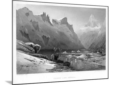 Iceberg Lake, Isterdal, Norway, Mid-Late 19th Century-Edward Paxman Brandard-Mounted Giclee Print