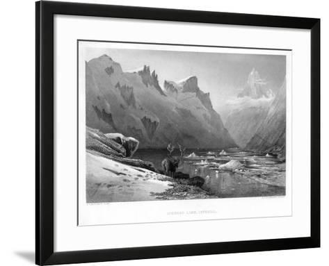 Iceberg Lake, Isterdal, Norway, Mid-Late 19th Century-Edward Paxman Brandard-Framed Art Print