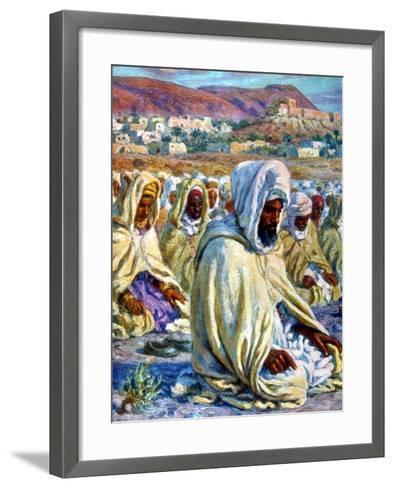 The Prayer, 1918-Etienne Dinet-Framed Art Print