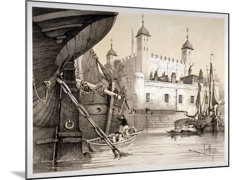Tower of London, C1840-Edmund Patten-Mounted Giclee Print