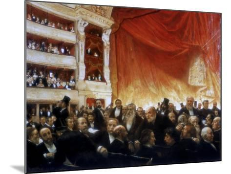An Interval with the Comedie Francaise, 1886-Edouard Joseph Dantan-Mounted Giclee Print