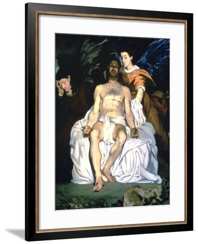 The Dead Christ and the Angels, 1864-Edouard Manet-Framed Art Print