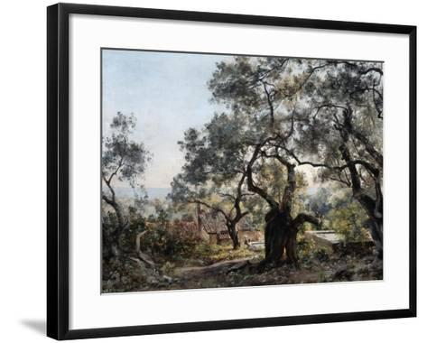 Lodola, Close to Menton, 1892-Emmanuel Lansyer-Framed Art Print