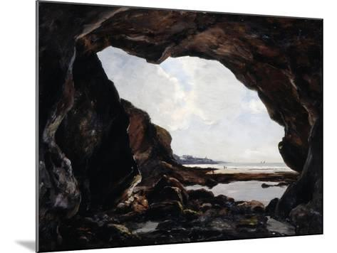 Grotto of Ris, Douarnenez, 1876-Emmanuel Lansyer-Mounted Giclee Print
