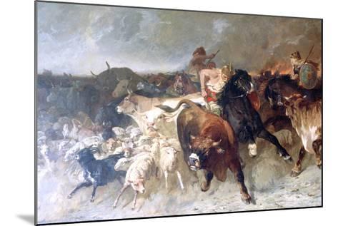 Plunderers, 1867-Evariste Vital Luminais-Mounted Giclee Print