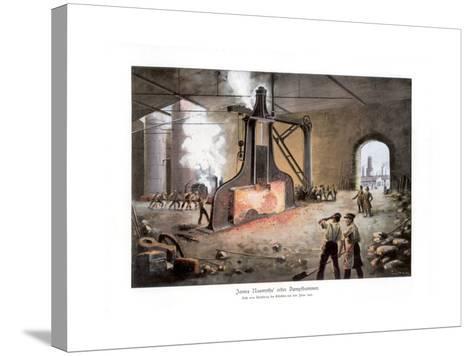 James Nasmyth's Steam Hammer, 1900-E Zimmer-Stretched Canvas Print