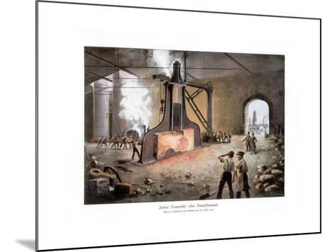 James Nasmyth's Steam Hammer, 1900-E Zimmer-Mounted Giclee Print