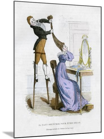 It Is Necessary to Suffer to Be Beautiful, 1882-1884-EA Tilly-Mounted Giclee Print