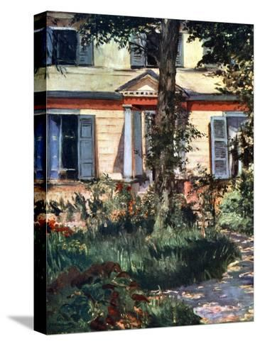 The House at Rueil, 1882-Edouard Manet-Stretched Canvas Print