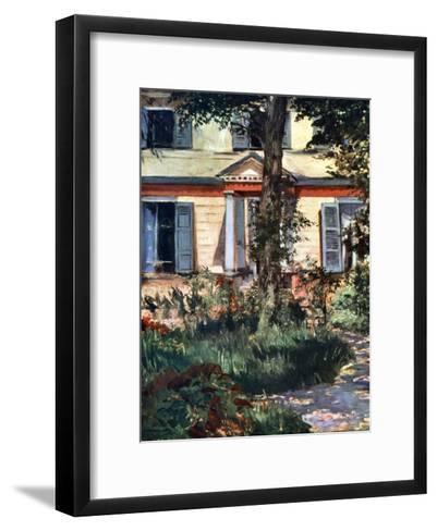 The House at Rueil, 1882-Edouard Manet-Framed Art Print
