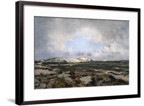 In the Dunes, 1881-Emmanuel Lansyer-Framed Art Print