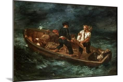After a Shipwreck, 1847-Eugene Delacroix-Mounted Giclee Print