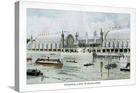Palace of Horticulture, Paris World Exposition, 1889-Ewald Thiel-Stretched Canvas Print