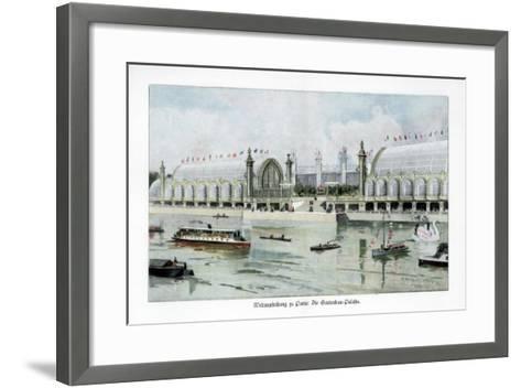Palace of Horticulture, Paris World Exposition, 1889-Ewald Thiel-Framed Art Print