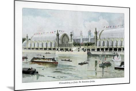 Palace of Horticulture, Paris World Exposition, 1889-Ewald Thiel-Mounted Giclee Print
