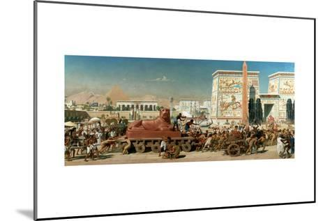 Israel in Egypt, 1867-Edward John Poynter-Mounted Giclee Print