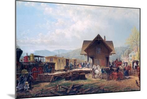 The 9:45 Accommodation, 1867-Edward Lamson Henry-Mounted Giclee Print