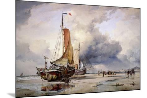 Dutch Pincks at Scheveningen, Holland, 1860-Edward William Cooke-Mounted Giclee Print