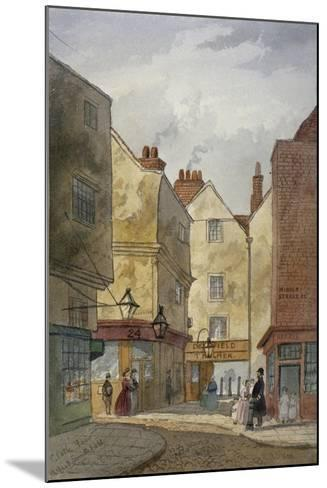 View of Cloth Fair and Middle Street, West Smithfield, City of London, 1867-EH Dixon-Mounted Giclee Print