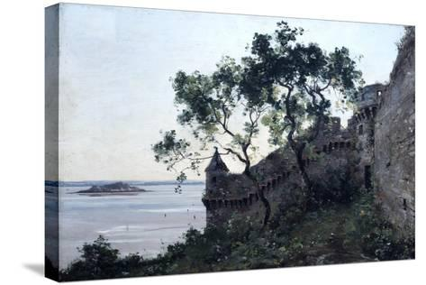 Watchtower, 1880-Emmanuel Lansyer-Stretched Canvas Print