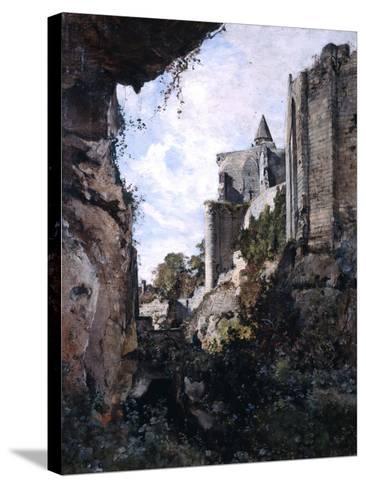 The Castle, 1882-Emmanuel Lansyer-Stretched Canvas Print
