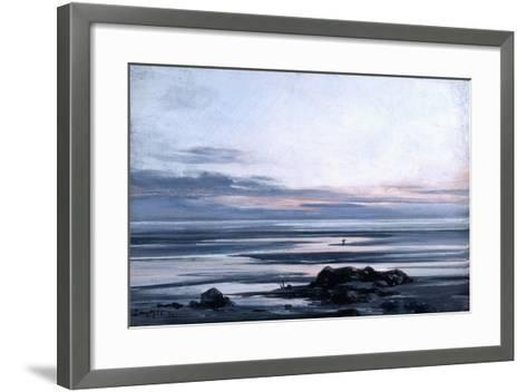 Mont St Michel, 1881-Emmanuel Lansyer-Framed Art Print