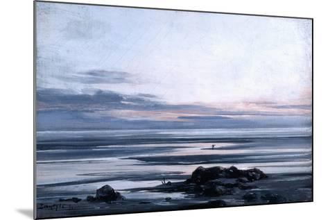Mont St Michel, 1881-Emmanuel Lansyer-Mounted Giclee Print