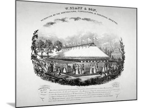 Highbury Barn, Islington, London, 1837-F Alvey-Mounted Giclee Print