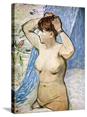 A Study of the Nude, 1879-Edouard Manet-Stretched Canvas Print