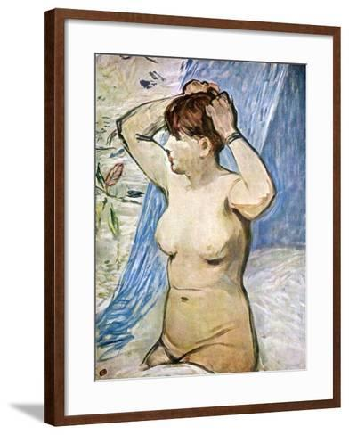 A Study of the Nude, 1879-Edouard Manet-Framed Art Print