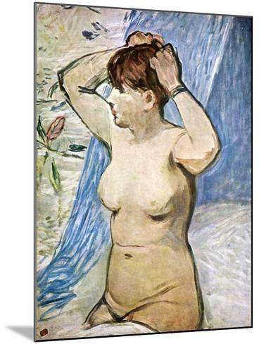 A Study of the Nude, 1879-Edouard Manet-Mounted Giclee Print