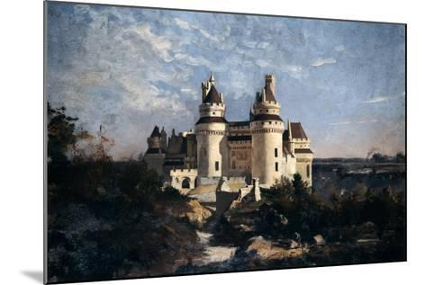 Pierrefonds, 1868-Emmanuel Lansyer-Mounted Giclee Print