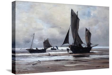 Berck, 1891-Emmanuel Lansyer-Stretched Canvas Print