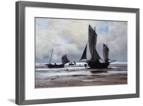 Berck, 1891-Emmanuel Lansyer-Framed Art Print