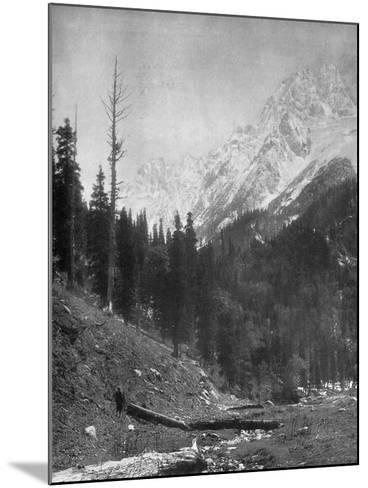 Sindh Valley Glaciers, Kashmir, India, Early 20th Century-F Bremner-Mounted Giclee Print