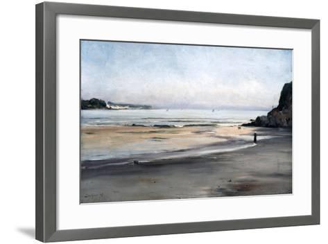 Rising Tide on Saturday Morning, 1876-Emmanuel Lansyer-Framed Art Print