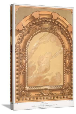 Architectural Detail, 19th Century-F Durin-Stretched Canvas Print