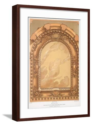 Architectural Detail, 19th Century-F Durin-Framed Art Print