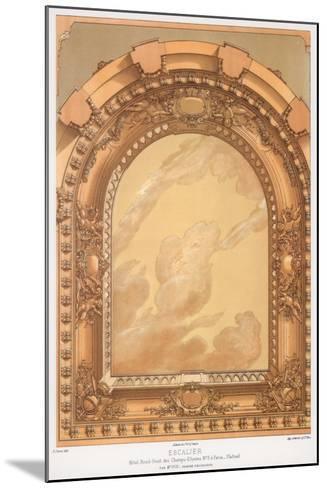 Architectural Detail, 19th Century-F Durin-Mounted Giclee Print