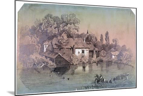 Hampstead Heath, Hampstead, London, C1850-F Hodges-Mounted Giclee Print