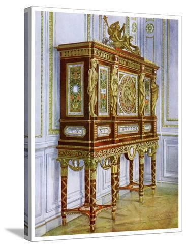 Jewel Cabinet of Marie Antoinette, Versailles, France, 1911-1912-Edwin Foley-Stretched Canvas Print