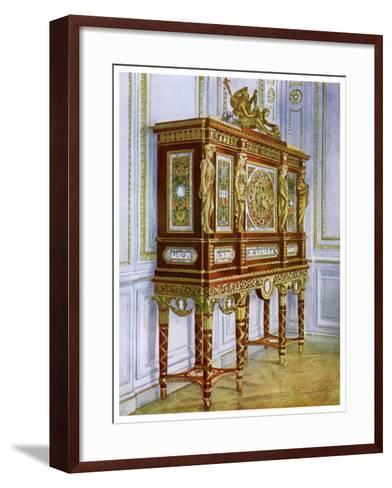 Jewel Cabinet of Marie Antoinette, Versailles, France, 1911-1912-Edwin Foley-Framed Art Print
