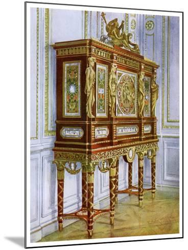Jewel Cabinet of Marie Antoinette, Versailles, France, 1911-1912-Edwin Foley-Mounted Giclee Print