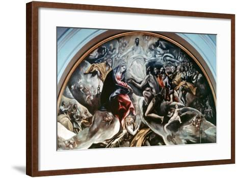The Burial of Count Orgaz' (Detail), 1586-1588-El Greco-Framed Art Print