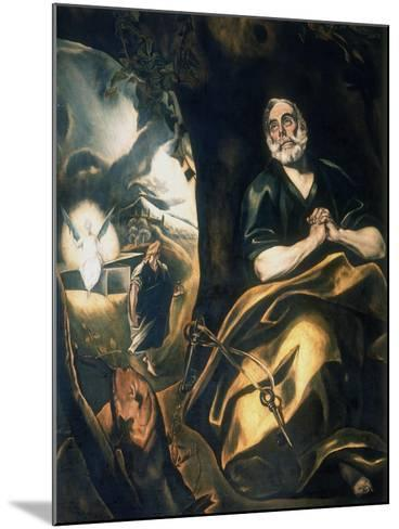 St Peter's Tears, C1561-1614-El Greco-Mounted Giclee Print