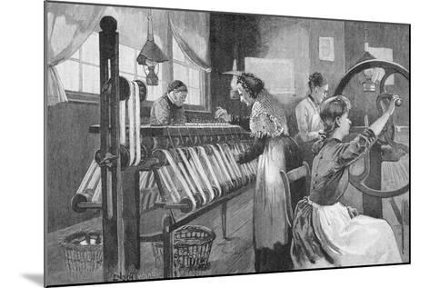 Spitalfields Silk Weavers, 1893-Enoch Ward-Mounted Giclee Print
