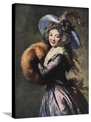 Madame Mole-Reymond, 1786-Elisabeth Louise Vigee-LeBrun-Stretched Canvas Print